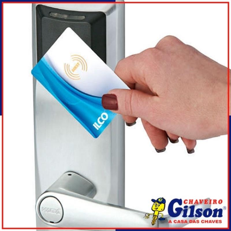 Empresa de Fechadura Eletrônica a Cartão Itapetininga - Fechadura Eletrônica