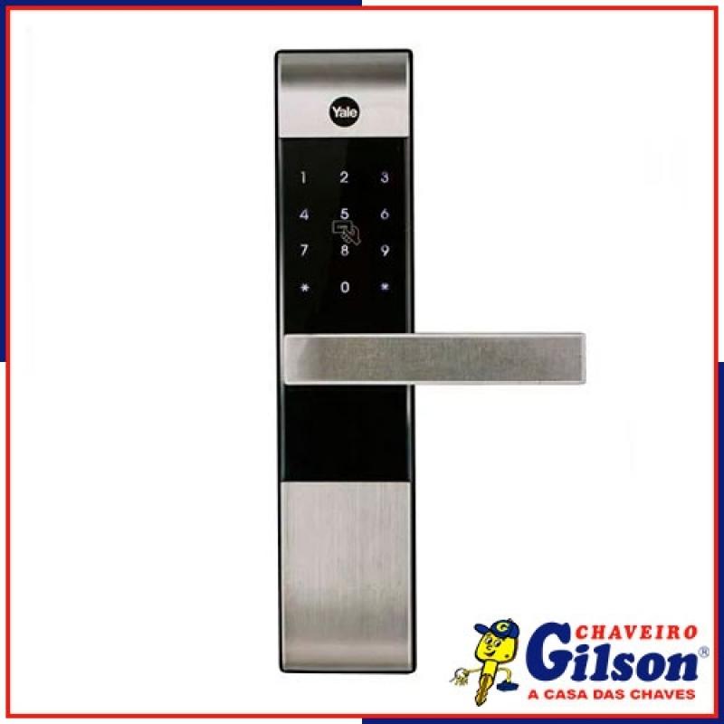 Fechadura Eletrônica de Porta Tatuí - Fechadura Eletrônica