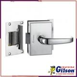fechadura eletrônica para porta de vidro Cesário Lange